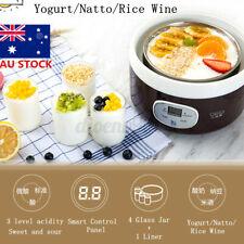 AU 220V Mini Yoghurt Maker Full Automatic Natto Rice Wine Yoghurt Smart Machine
