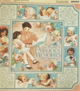 Graphic 45 Precious Memories Collection Baby 12 x 12 Cardstock PICK Cuddle Cutie