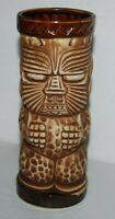 Vintage Peanut Trader Dick's Tiki Mug Cup John Ascuaga Nugget Reno Lined Face