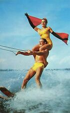 PROFESSIONAL SKILL & THRILLS OF WATER SKIING-CYPRESS GARDENS,FL