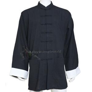 25 Colors Chinese Kung fu Jacket Wing Chun Coat Tai Chi Top Wushu Clothes