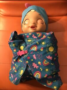 Baby Alive Baby Grows Up 14 BONUS PARTY SURPRISES Growing Doll Pre Owned