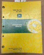 John Deere 1850 No Till Air Drill Operator Manual Oma54933 D 7