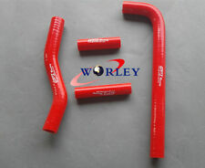 For YAMAHA YZF250 YZ250F 2001-2005 / WR250F 2001-2006 Silicone radiator hose RED