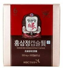100ea Cheong Kwan Jang Korean 6 Years Red Ginseng Extract Capsules Hyun Herb_NN