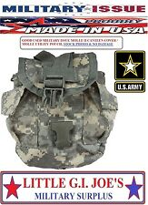 USED MILITARY ISSUE Acu Camo Molle II Canteen Cover Molle General Purpose Pouch