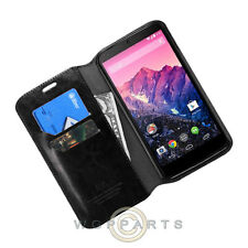Nexus 6 Wallet Pouch Black Case Cover Shell