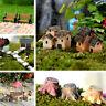 Mini Craft Figurine Plant Pot Garden Ornament Miniature Fairy Garden Decor DIY U