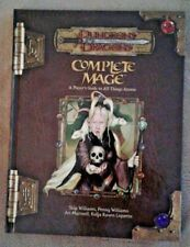D&D 3.5: Complete Mage Hardcover First Edition First Printing