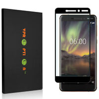 VPROPTION Full Coverage Tempered Glass Screen Protector for Nokia 6.1 2018
