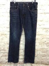 Gap 1969 Standard Jeans Mens Size 30 x 30 Blue Denim Dark Wash Straight Cut