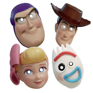 Toy Story 4 Paper Masks Birthday Party Supplies ~ 8ct Party Favors Photo Props