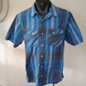The North Face Shirt Pearl Snap Buttons Size L