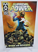 Supreme Power Gods & Soldiers 1 2 3 4 Marvel Comics TPB Trade Paperback New