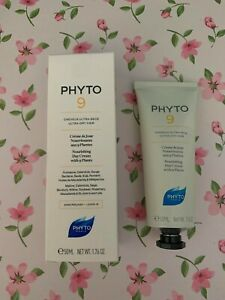 PHYTO 9 ULTRA-DRY HAIR Nourishing Day Cream with 9 plants LEAVE-IN 50ml