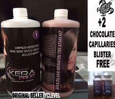 KERAFRUIT ORIGINAL keratina chocolate brasileña profesional + 2 BTX Cocoa
