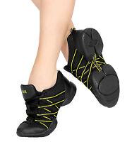 Black Bloch criss cross split sole dance sneakers - all sizes - S0524