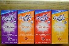 Crystal Light with Caffeine formally Crystal Light Energy    Sugar Free