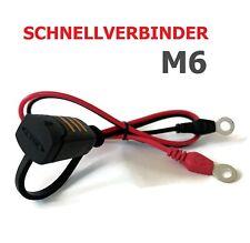 CTEK M6 Schnellkontakt Kabel 56260 für MXS5.0 MXS10 XC0.8 XS0.8 XS4003 MXS3.6