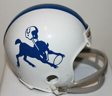 Baltimore Colts Logo Throwback Riddell 2 Bar Mini Helmet