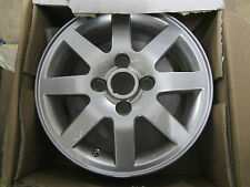 Genuine Ford KA 8 Spoke High Gloss Alluminium Wheel 1103583 1999-2008