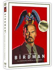 BIRDMAN DVD NUEVO ( SIN ABRIR ) 4 PREMIOS ACADEMIA INCLUYENDO MEJOR PELICULA