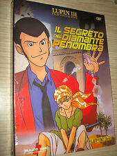 DVD LUPIN III THE 3rd IL SEGRETO DEL DIAMANTE PENOMBRA FILM COLLECTION SEALED
