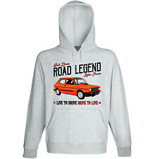 Fiat 127 Sport - GREY HOODIE - ALL SIZES IN STOCK