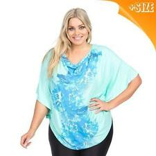 Autograph Viscose Floral Plus Size Tops & Blouses for Women