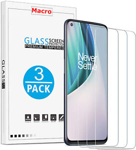 [3-Pack] Tempered Glass Screen Protector for OnePlus Nord N10 5G / Nord N100
