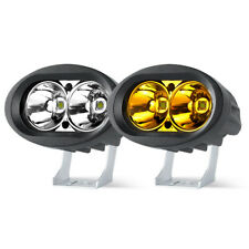 4in 20W LED Work Light Bar Spot Yellow White Offroad 4WD SUV ATV Fog Motorcycle