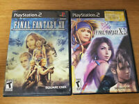 Lot of 2 Playstation 2 Final Fantasy Video Games No Manuals
