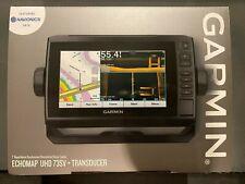 Garmin ECHOMAP UHD 73sv Chartplotter w. LakeV G3 Charts & GT54UHD-TM Transducer