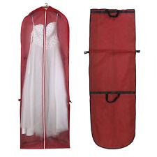 "65"" Showerproof Long Garment Dress Cover Bridal Wedding Dresses Storage Bag"