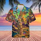 Welcome To Tiki Bar 2 Unisex Hawaiian Shirt Full Size S-5XL