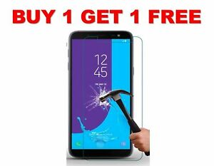 Genuine Tempered Glass Screen Protector For Samsung Galaxy J4 PLUS (2018)
