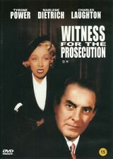 Witness For The Prosecution Tyrone Power Outer Sleeve But No Cover Art Dvd