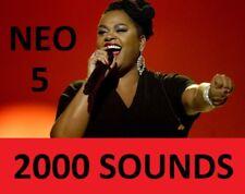 Neo Soul 5 DRUMs  2000 SOUND KIT R&B SAMPLES Korg Arturia Roland AKAI MPC NI FL