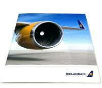 Icelandair Corporate Picture Airline Brochure Fleet Cabins Inflight Services