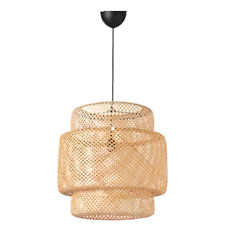 *New  SINNERLIG Pendant lamp, bamboo 703.116.97 *Brand IKEA*