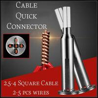 4/5 Square Cable Wire Stripping und Drehen Werkzeug Elektrische Kabel Stecker