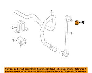 TOYOTA OEM Stabilizer Bar-Front-Stabilizer Link Nut 9008017224