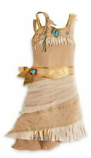 Disney Store Pocahontas Costume Size XS 4/4T: Indian Princess Halloween Dress