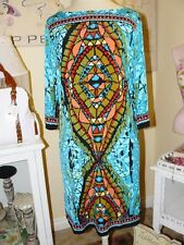 ECI Glam Chic STAINED GLASS ART Office to Afterhours SHEATH DRESS 6
