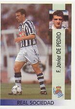 N°106 FRANCISCO JAVIER DE PEDRO REAL SOCIEDAD CROMO STICKER PANINI LIGA 1997