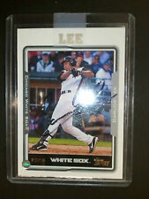 2005 Topps #180 Carlos Lee Autograph