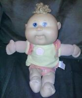 "VINTAGE CABBAGE PATCH KIDS CPK used girl DOLL and toy 2000s 12"" xavier roberts!"