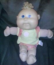 """VINTAGE CABBAGE PATCH KIDS CPK used girl DOLL and toy 2000s 12"""" xavier roberts!"""