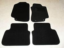 SAAB 9-5 2006-10 Fully Tailored Car mats Black/Blk