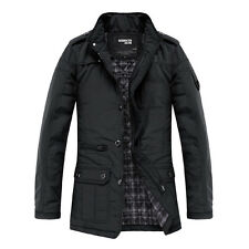 XF031 New Men's Jacket Coat Slim Clothes Winter Warm Overcoat Casual Outwear